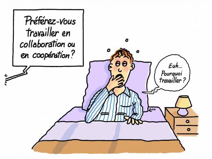 Coopération collaboration